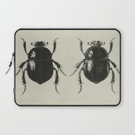Antiquarian Beetles Laptop Sleeve
