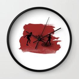 Spitter! Wall Clock