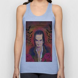 Nick Cave and Blood Roses Unisex Tank Top
