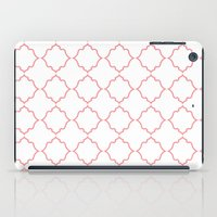 moroccan iPad Cases featuring Moroccan Coral by Jenna Mhairi