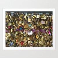 Love Locks Art Print