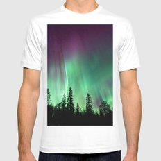 Aurora XXI Mens Fitted Tee White MEDIUM
