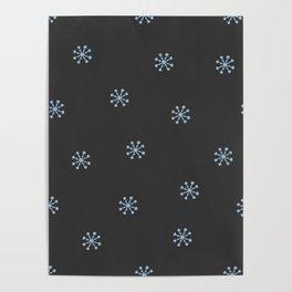 Winter Flake Poster