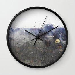 Rainy Rembrandt Wall Clock