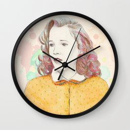Lorraine Baines - Secondary character? Never! Wall Clock