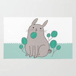 Happy Bunny Rug