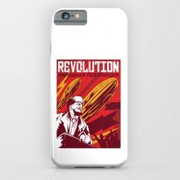 Lenin t-shirt communist propaganda CCCP  iPhone Case
