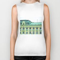 political Biker Tanks featuring Political building. by Alejandra Triana Muñoz (Alejandra Sweet