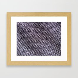 moon texture - Sec.1f.21.237 Framed Art Print