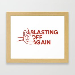 Team Rocket Blasting Off Again! Framed Art Print