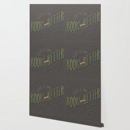Books are Better - Color Wallpaper