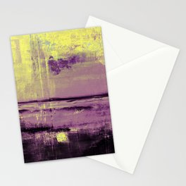 Yellow Color Patches Stationery Cards