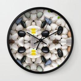 Pebble wash rock river new design 2016 Wall Clock