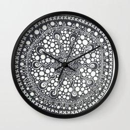 Mandala #7 Wall Clock
