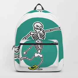 Calavera Soccer Backpack