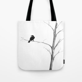 Raven in a Tree Tote Bag