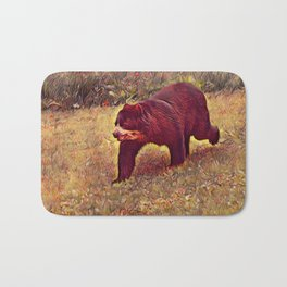 Impressive Animal - Baer Bath Mat