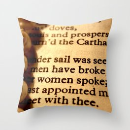 Words number 2 Throw Pillow