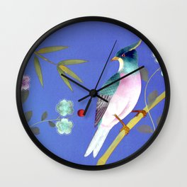 chinois 1731: twilight variations Wall Clock