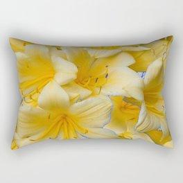 IVORY COLOR CLIVIA FLOWERS Rectangular Pillow