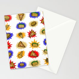 Fun Food Stationery Cards