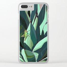 Grasshopper Clear iPhone Case
