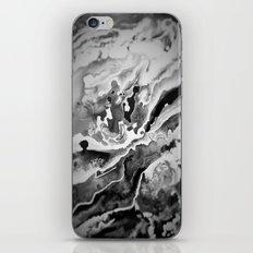 Deep Sea Black Focus Marble iPhone & iPod Skin