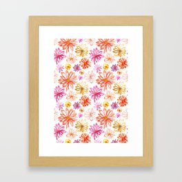Painted Floral I Framed Art Print