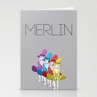merlin Stationery Cards featuring Merlin by MajorTom