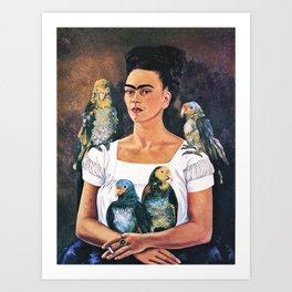 Frida Kahlo Birds Kunstdrucke