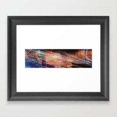 citypunk blaze Framed Art Print