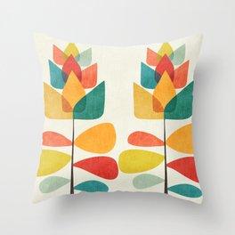 Spring Time Memory Throw Pillow