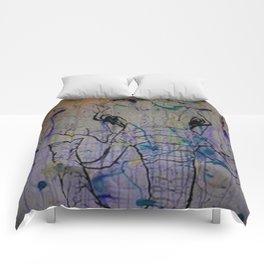 Splattered Life Comforters