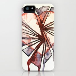 Shattered heart iPhone Case