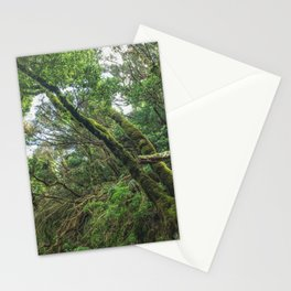 Forest landscape, magical laurel tree jungle Stationery Cards