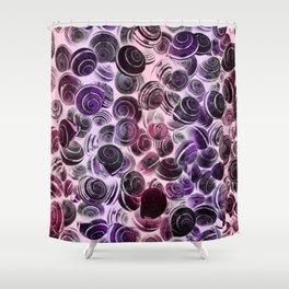 X-Swirls Shower Curtain