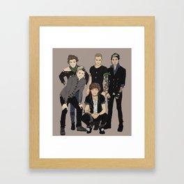 """ Bad Boys Edition "" Framed Art Print"