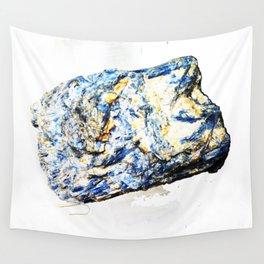 Kyanite crystall Gemstone Wall Tapestry