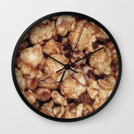 CARAMEL POPCORN Wall Clock