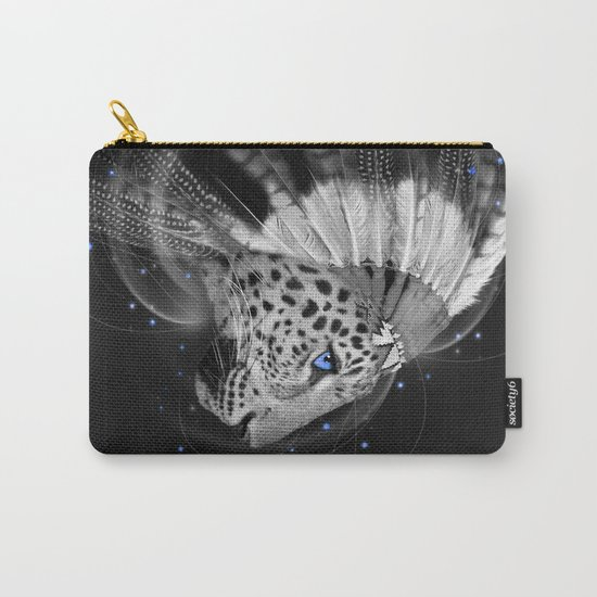 Don't Define the World (Chief of Dreams: Amur Leopard) Carry-All Pouch