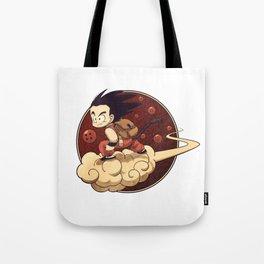 Son Goku & Kinto-Un Tote Bag
