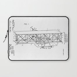 Wright Brothers Patent: Flying Machine Laptop Sleeve