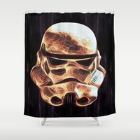 stormtrooper Shower Curtains featuring Stormtrooper by DisPrints
