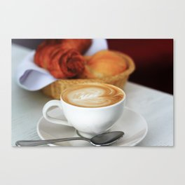 Viennese Breakfast Canvas Print