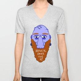 Beard Strut it Unisex V-Neck