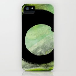 Enso Abstract No. 8G by Kathy Morton Stanion iPhone Case