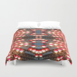 Church candles 7 Duvet Cover