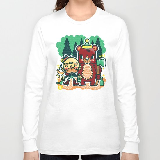 Lumberjack and Friend Long Sleeve T-shirt