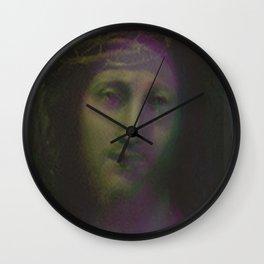 Jesus Christ.com Colour Wall Clock