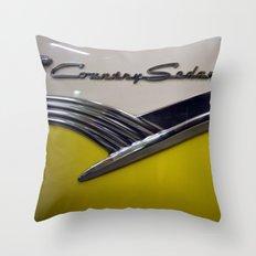 Ford Country Sedan Throw Pillow